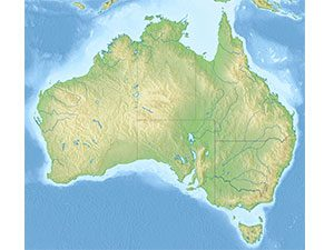 Australia Map ETM Traffic Control services